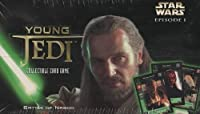 Young Jedi Collectible Card Game Battle of Naboo booster pack display box