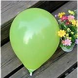 FidgetGear Wholesale 100pcs Latex Helium Thickening Round Wedding Party Birthday Balloon Yellow 50 Pcs