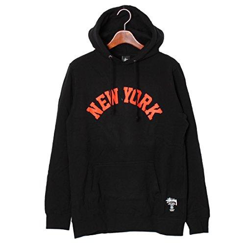 (ステューシー)STUSSY NEW YORK IST プルオーバー パーカー 1923588 メンズ 02.ブラック M [並行輸入品]