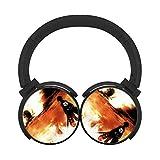 Bluetoothヘッドフォン 進撃の巨人 Attack On Titan over ear Bluetooth Headphone ワイヤレスヘッドセットステレオHi - Fiノイズキャンセリングイヤホン折りたたみ式for PC/携帯電話/ TV