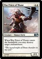 英語版 マジック基本セット2013 Magic 2013 Core Set M13 テューンの戦僧 War Priest of Thune マジック・ザ・ギャザリング mtg