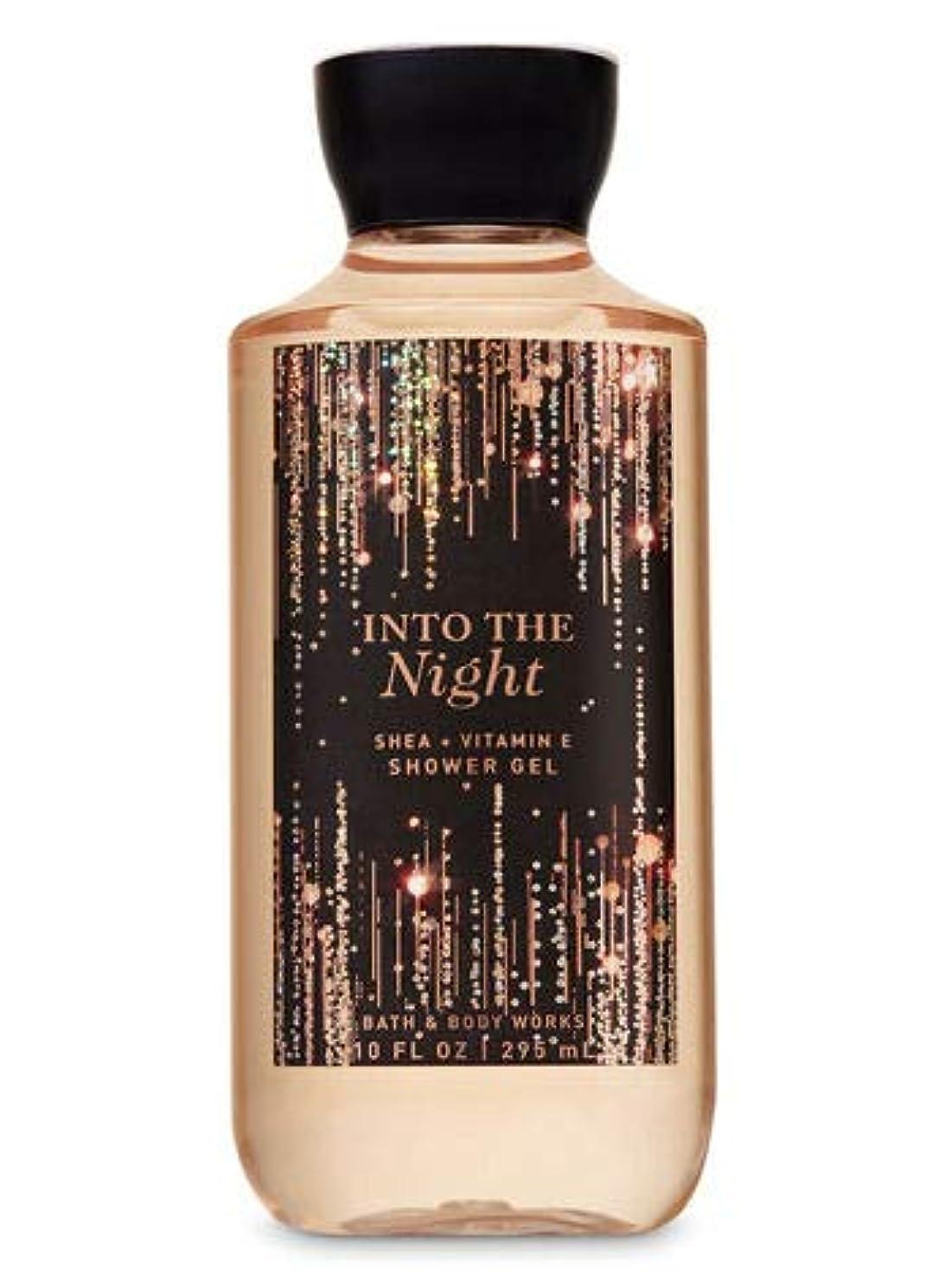 植物学者動詞動作Bath and Body Works INTO THE NIGHT Shower Gel 10 fl oz / 295 mL シャワージェル [並行輸入品]