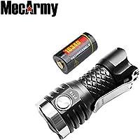 MecArmy PT16 1000 ルーメン USB充電式ライト キーホルダー コンパクト LED 懐中電灯 使用電池16340リチウムイオン充電池(16340電池一本付き)