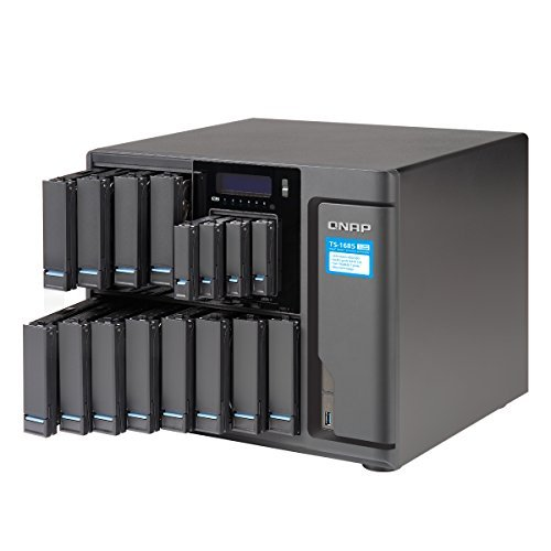 Qnap TS-1685-D1531-64GR-US 12 Bay High-Capacity 10GbE iSCSI NAS , 40GbE-ready [並行輸入品]