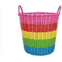 プラスチックの藤は汚れた服が汚れてかごの服を収納して洗濯した洗濯かごの衣かごのおもちゃ桶でかごを編みます