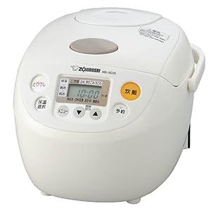 象印 マイコン炊飯器 3合炊き NS-UC05-WB