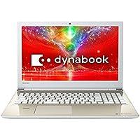 東芝 dynabook AZ65/EGSD 東芝Webオリジナルモデル (Windows 10 Home 64ビット(Creators Update 適用済)/Office Home and Business Premium プラス Office 365 サービス/15.6型/Core i7/SSD/ブルーレイ/サテンゴールド) PAZ65EG-BJC