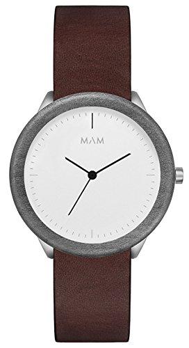 (MAM オリジナル) Mam originals light maple cooper 067 男性用 日本製クオーツ 時計 [