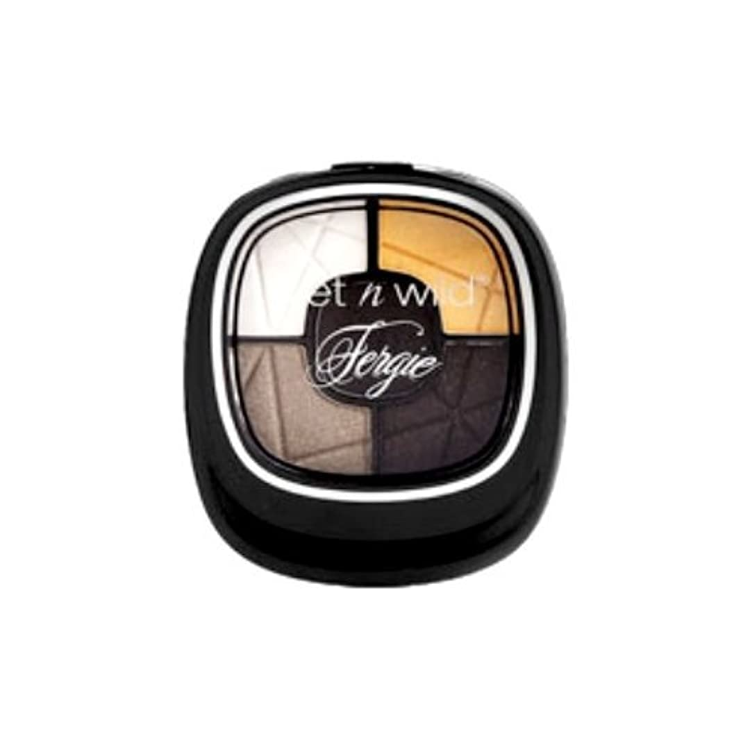 食堂エミュレーション処方する(3 Pack) Wet N Wild FERGIE Photo Op Eyeshadow - Metropolitan Lights (並行輸入品)