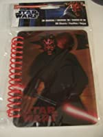 Star Wars 3D Journal Darth Maul (8.9cm x 11cm ; 60 Sheets, 120 Pages)