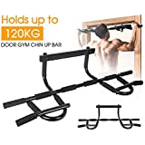 Doorway Gym Portable Chin Up Bar Chinup Pullup Exercise Door Station