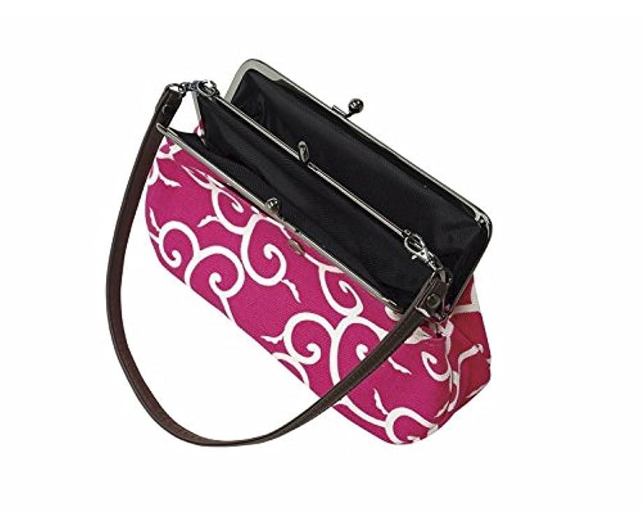 スイッチ注意パラダイス紐付き ポーチ(がま口)(ao4330) 財布 小物入れ 化粧ポーチ バッグ 鞄