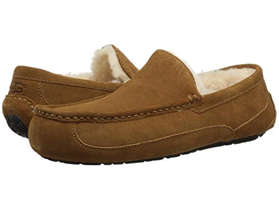 権利を与える凍結再発する[UGG(アグ)] メンズローファー?スリッポン?靴 Ascot Chestnut 17 (35cm) D - Medium