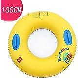 浮き輪 大人用 浮輪 フロート 直径100cm 大きい 厚 おしゃれ うきわ 取っ手付き プール ビーチ 海水浴 夏休み レジャー用品 レディース メンズ