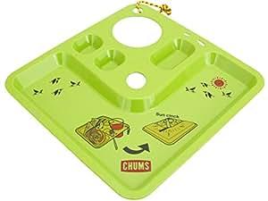 (チャムス) CHUMS Thumbs Up Plate(サムズアッププレート) CH62-1003 Lime