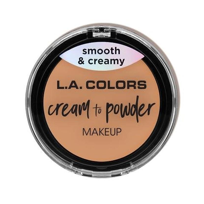 歴史的フック毛布(3 Pack) L.A. COLORS Cream To Powder Foundation - Natural (並行輸入品)