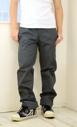 Dickies ディッキーズ ワークパンツ メンズ 49 作業着 黒 グレー ベージュ ネイビー 大きいサイズ チノパン CHARCOAL(グレー) 40インチ