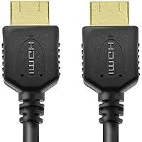 エレコム HDMIケーブル ハイスピード 3.0m イーサネット/4K/3D/オーディオリターン 【PS3/PS4/Xbox360/ニンテンドークラシックミニ対応】 ブラック DH-HD14ER30BK