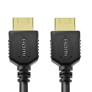 エレコム ハイスピードHDMIケーブル 3.0m イーサネット/4K/3D/オーディオリターン対応 ブラック DH-HD14ER30BK
