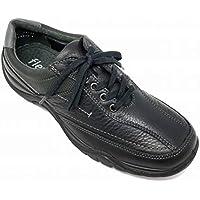flexi マドラス 紳士靴 レースアップ カジュアル 3E シューズ 19126 ブラック【本革】