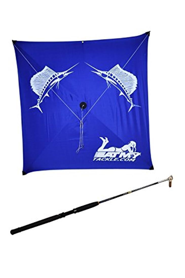 おとこ台風格納Saltwater釣りロッドと釣り凧カイトコンボ