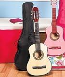 Kids Wood Guitar W/Case-Black アコースティックギター アコギ ギター (並行輸入)