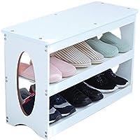 木製多層靴ベンチ、シンプルストレージスツールモール靴店入り口家庭用多機能防塵靴ベンチ (色 : C, サイズ さいず : 70 * 27 * 45CM)