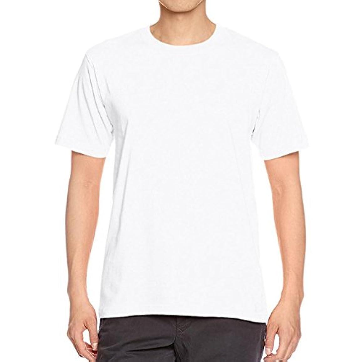 敏感な歌詞シミュレートするDAISUKI メンズ Tシャツ Oネック 半袖 無地 トップスファッション カジュアル シンプル シャツ トレーナー スポーツ さわやか トップス フォーマル コート ファッション(ホワイト,ブラック,グレー, ネイビー)