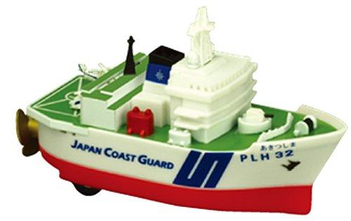 KB オリジナル プルバック 海上保安庁 巡視船あきつしま 完成品