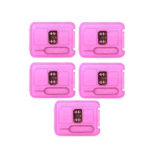 RaiFu RSIM 12 Nano アンロックカード ロック解除 スマートリペアカード iPhone X/8/7/6/6s/5S/ 4G iOS 10 11対応 5個