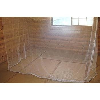 (Aideaz) 選べる 超 ワイド 3m 特大 蚊帳 約 6畳 サイズ 防蚊 安眠 エコロジー
