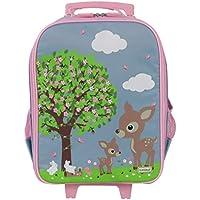 Bobble Art Wheely Bag Woodland Animals