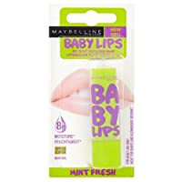 Maybelline Baby Lips Lip Balm - Mint Fresh メイベリンの赤ちゃんの唇リップバーム - ミントフレッシュ [並行輸入品]