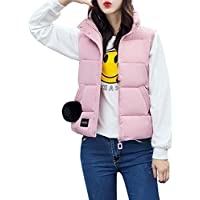 Misaky Women's Puffer Down Coat Jackets With Faux Fur Hoodie