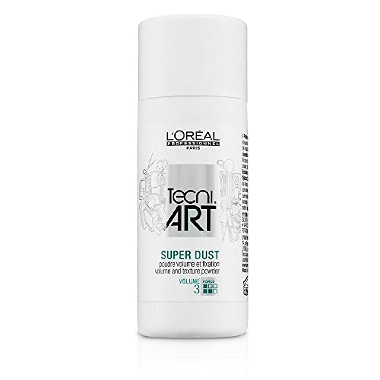 交通渋滞合併症調子L'Oreal Tecni Art Super Dust - Volume And Texture Powder 7g [並行輸入品]