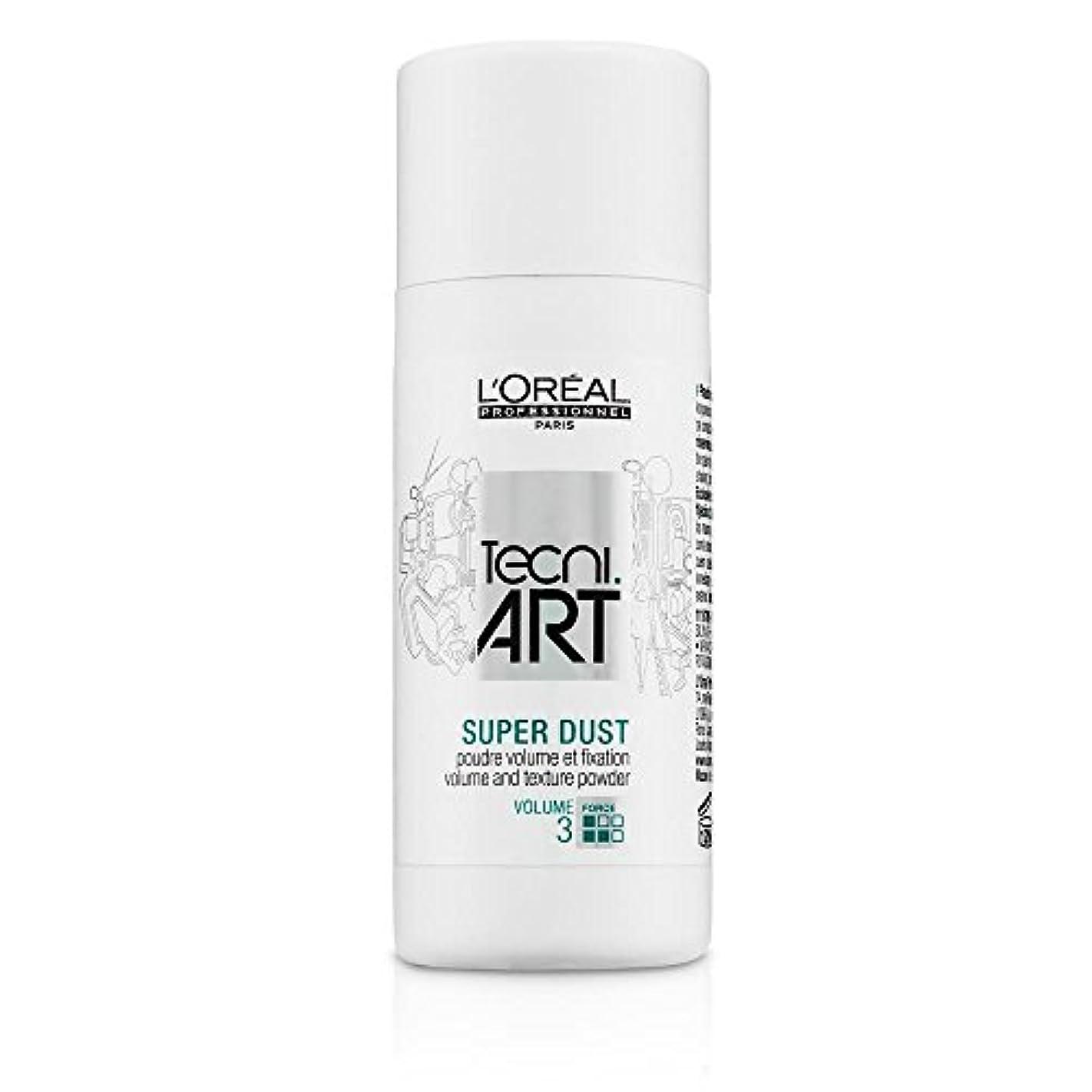 豆悔い改めわざわざL'Oreal Tecni Art Super Dust - Volume And Texture Powder 7g [並行輸入品]