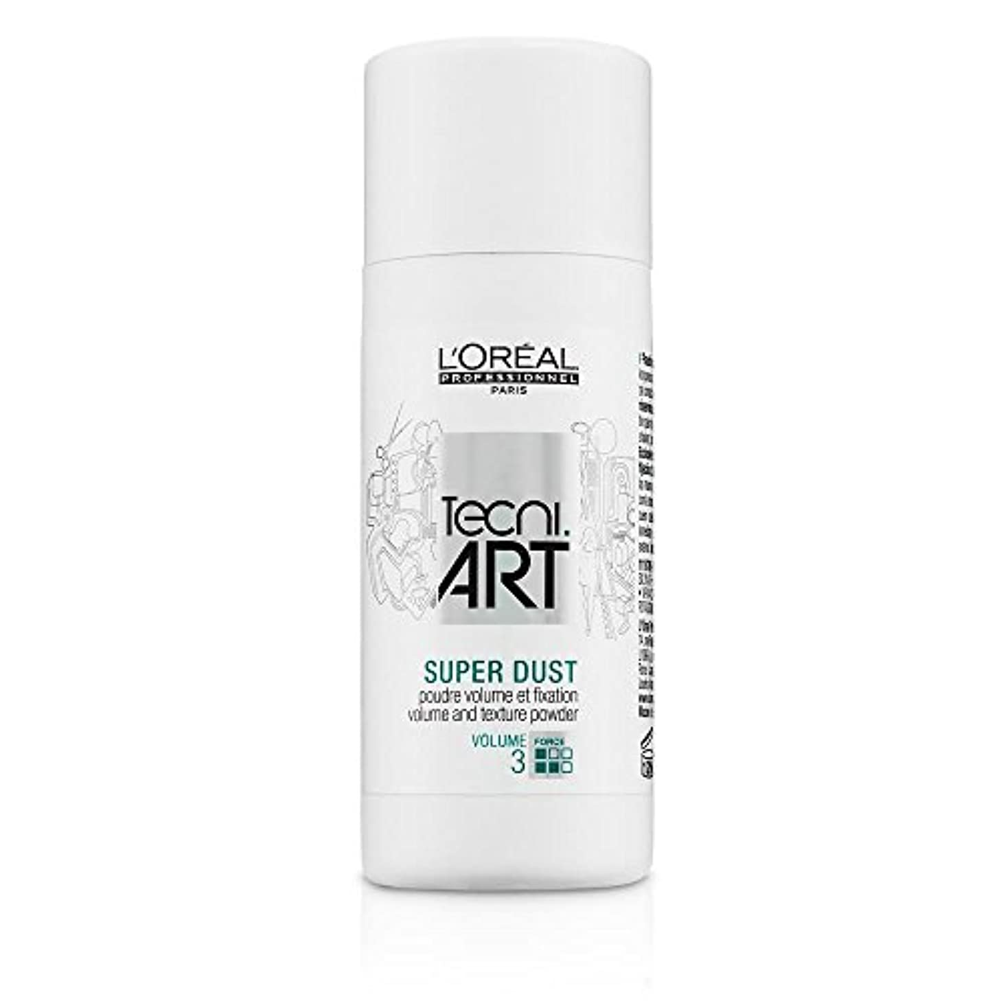 フロー解説協力するL'Oreal Tecni Art Super Dust - Volume And Texture Powder 7g [並行輸入品]