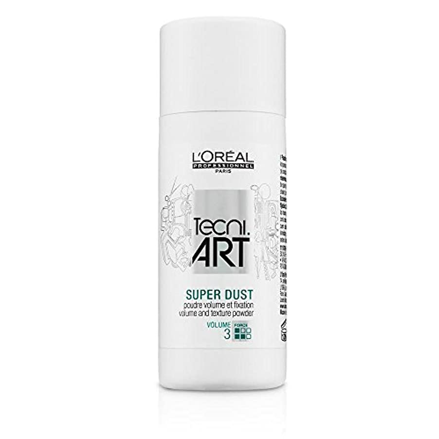 リア王落ち着いた不健全L'Oreal Tecni Art Super Dust - Volume And Texture Powder 7g [並行輸入品]