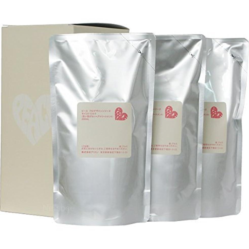 シャンプー集団的影響力のあるピース プロデザインシリーズ モイストミルク バニラ リフィル 200ml×3
