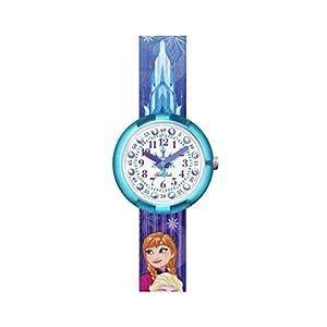 [フリック フラック]FLIK FLAK 腕時計 Friends & Heroesフレンズ&ヒーローズDISNEY FROZEN ELSA & ANNA (ディズニー・フローズン・エルサ&アナ) キッズ