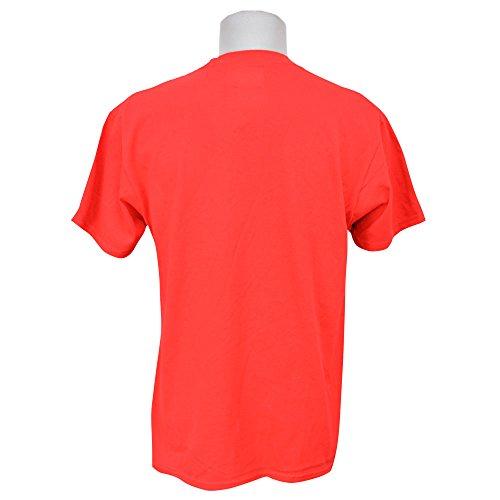 Majestic(マジェスティック) MLB テキサス・レンジャーズ Tシャツ New Wordmark Tee (レッド) - L [並行輸入品]