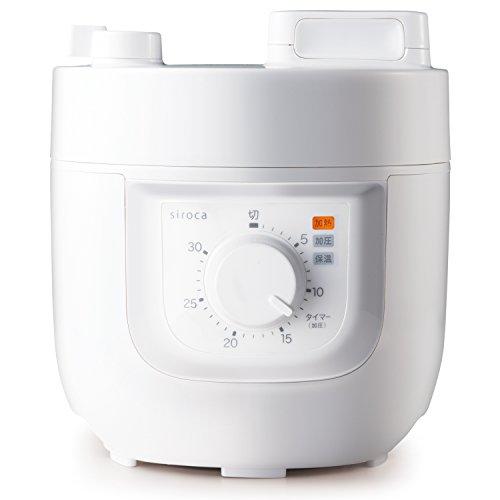 siroca (シロカ) 電気圧力鍋 SP-A111 ホワイト B075L7QFF7 1枚目