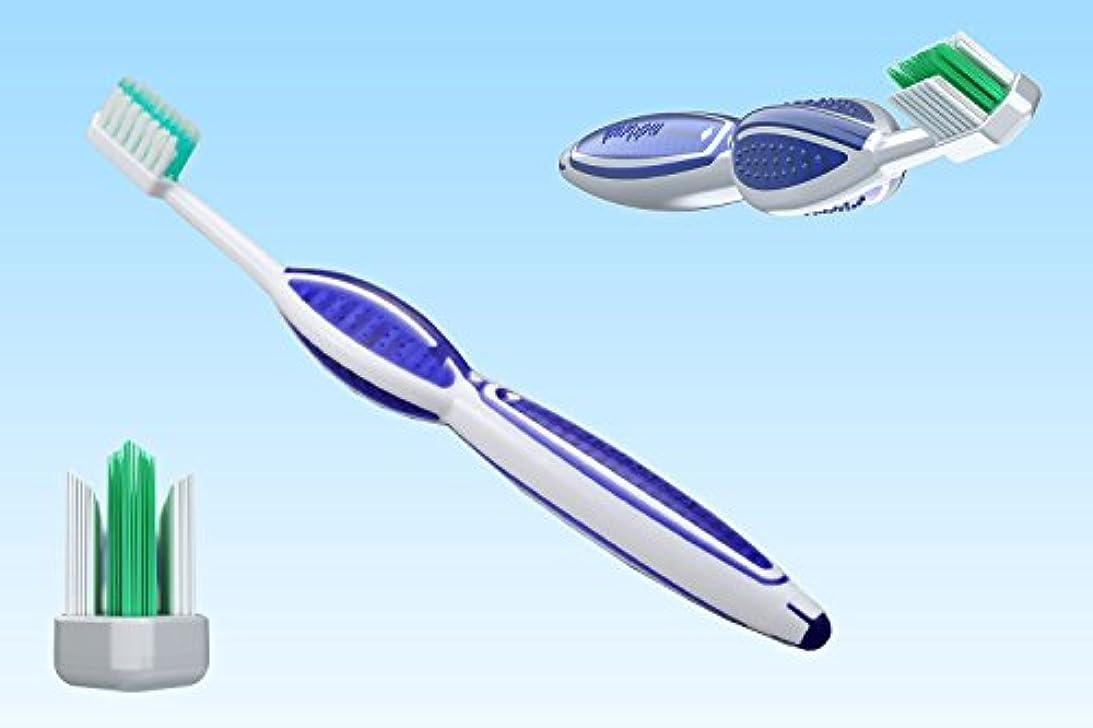 かなりのそのそれによって【全米で大人気】歯ブラシ 歯周病 歯垢 プラーク 口臭 黄ばみ 歯肉炎 歯周炎 予防 米国歯科医師会 MD Brush パープル