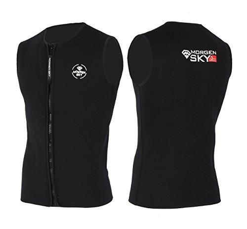 [해외]MORGEN SKY 3mm 잠수복 남녀 겸용 젖은 베스트 프론트 지퍼 소매/MORGEN SKY 3mm wet suit unisex wetsuit vest front zipper sleeveless
