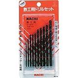 ナチ(NACHI) 鉄工用ドリル 10本セット (金属・金工)