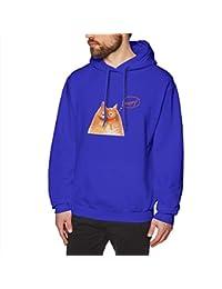 BerryeE猫 幸せ パーカー メンズ Tシャツ 長袖 無地 個性 通勤 ゲーム ジョギング ファッション スウェット カジュアル フード付き ロゴ プルパーカー 男女兼用 秋冬