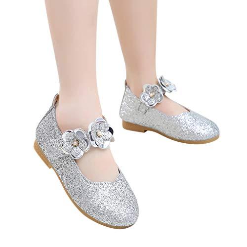 d987bdad581ec 『子供靴 Plojuxi 女の子 ドレスシューズ ピアノ発表会靴 滑り止め フォーマル靴 ガールズ