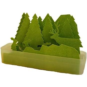 積水樹脂商事 自然気化式ECO加湿器 うるおい 森/グリーン
