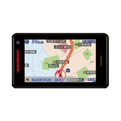 Super Cat A310 1ボディタイプ GPSレーダー探知機