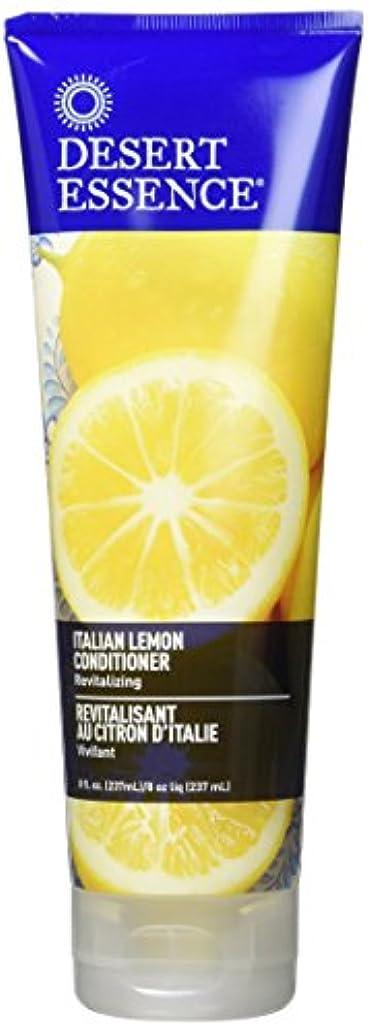 開梱コミットメントレジデンスConditioner - Italian Lemon - 8 oz by Desert Essence